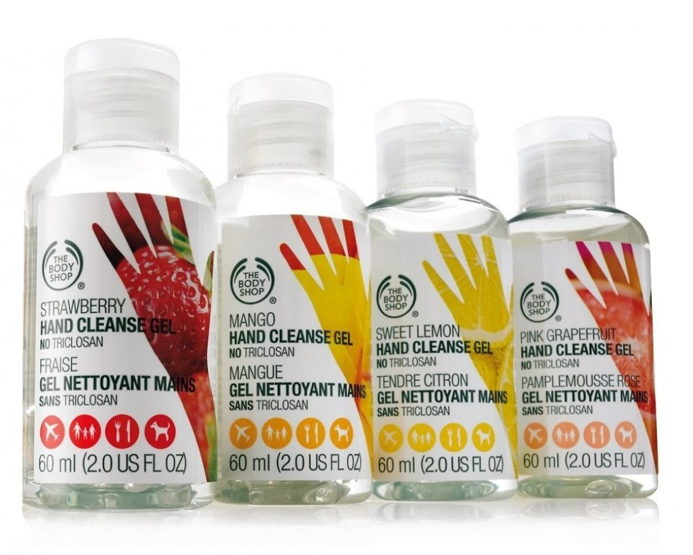 The Body Shop Cleanse Gel