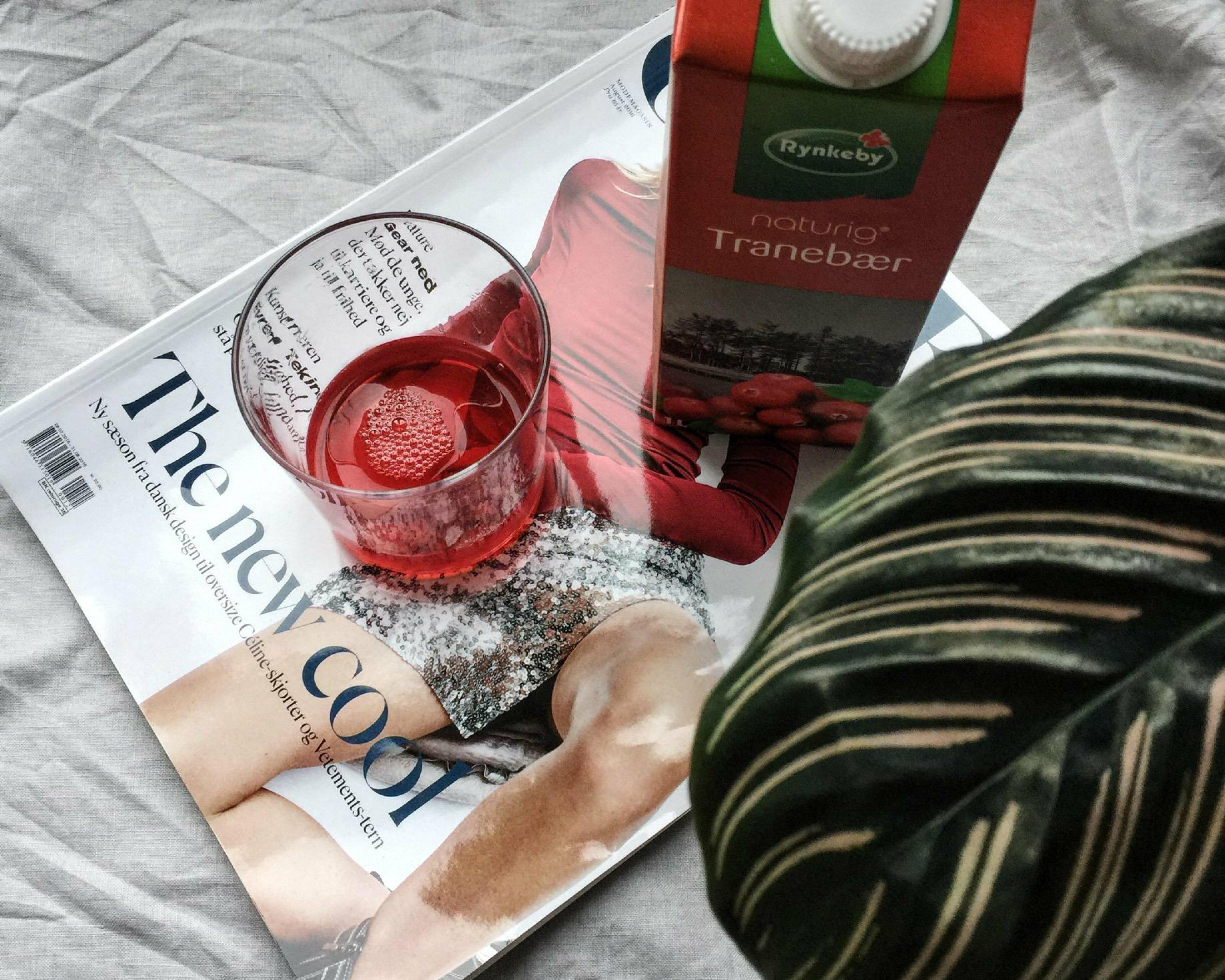 Tranebærsaft, blærebetændelse og husmorråd | Aniston
