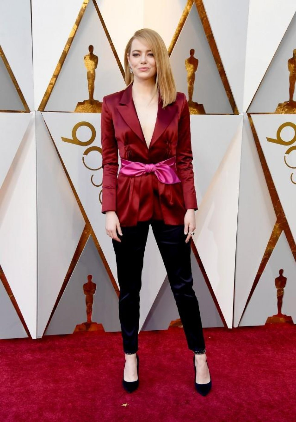 Entertainment Tonight - Oscars Red Carpet Fashion: Hvilken stjerne bar hvad?