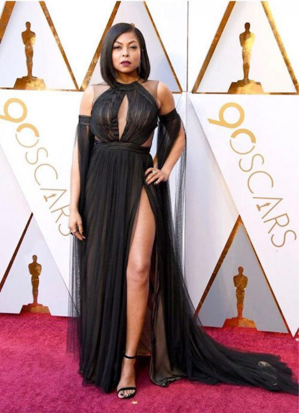 The Young, Black, and Fabulous - Oscars Red Carpet Fashion: Hvilken stjerne bar hvad?
