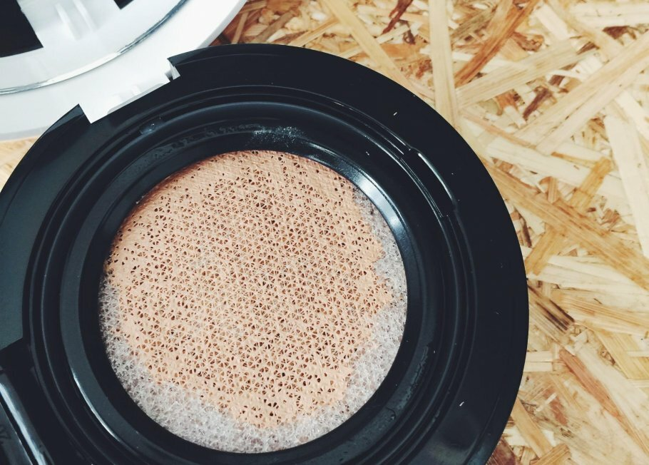 Cushion foundation til makeup på farten