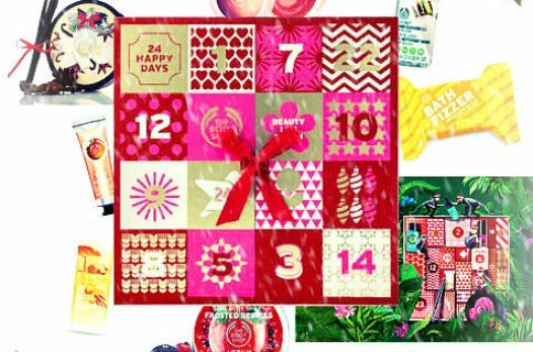 [Adventskalender]: The Body Shop pakkekalender