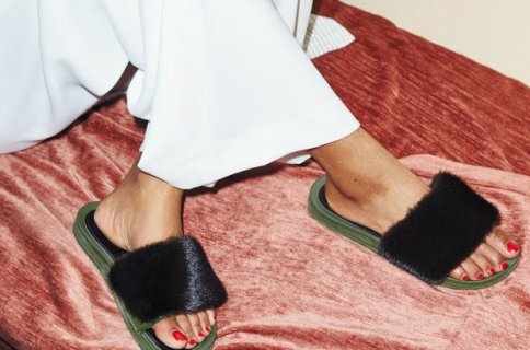 Trendspotting: Furry Slippers